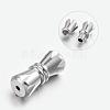 304 Stainless Steel Screw ClaspsSTAS-L135-03-1