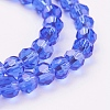 Glass Beads Strands EGLA-J042-4mm-02-3