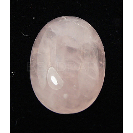Natural Rose Quartz Cabochons X-G-ROSE18x13x5-1
