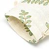 Polycotton(Polyester Cotton) Packing Pouches Drawstring BagsABAG-T004-10x14-16-6