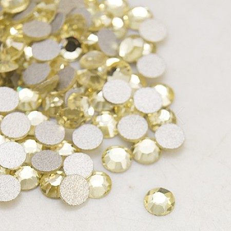 1440PC//Bag Glass Flat Back Rhinestone Grade A Faceted Half Round Crystal Jewelry