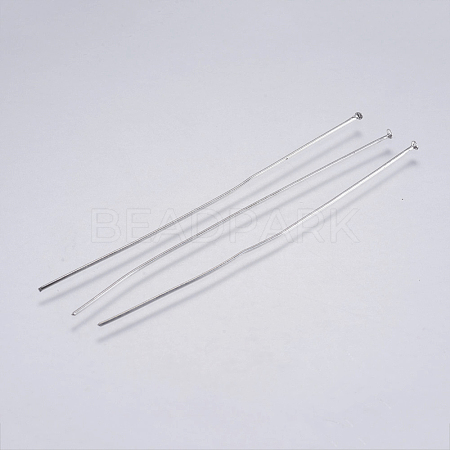 304 Stainless Steel Flat Head Pins X-STAS-F146-01P-70mm-1