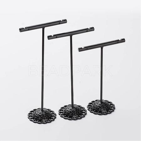 3 Pcs T Bar Iron Earring Displays SetsEDIS-P001-01B-1