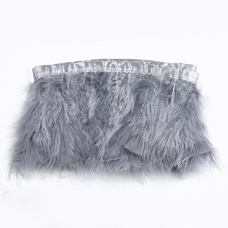 Turkey Feather Fringe TrimmingFIND-T037-03B-1