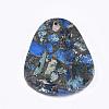 Synthetic Gold Line Regalite/Imperial Jasper/Sea Sediment Jasper PendantsG-S329-031A-3