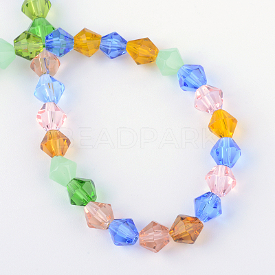 Glass Beads Strands GLAA-S050-6mm-1