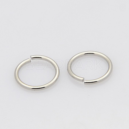 304 Stainless Steel Close but Unsoldered Jump Rings STAS-N015-10-5x0.7mm-1
