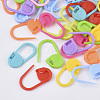 Plastic Knitting Crochet Locking Stitch Markers Holder TOOL-R028-M-1