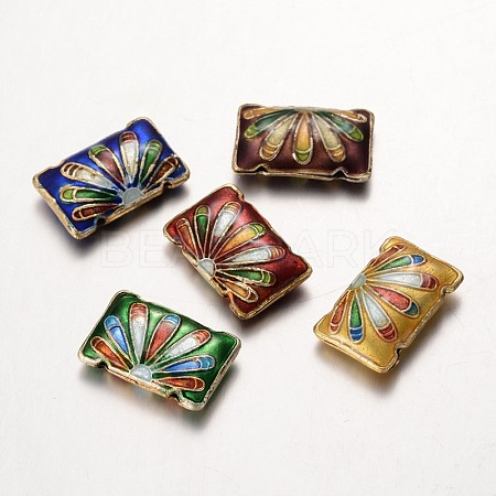 Handmade Cloisonne BeadsCLB182Y-1