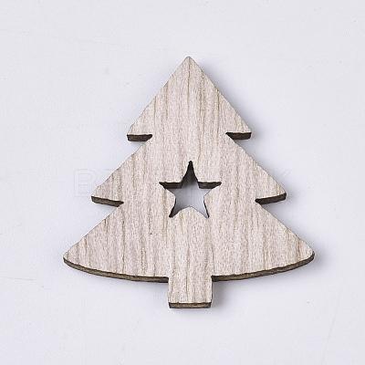 Christmas Theme Laser Cut Wood ShapesX-WOOD-T011-63-1
