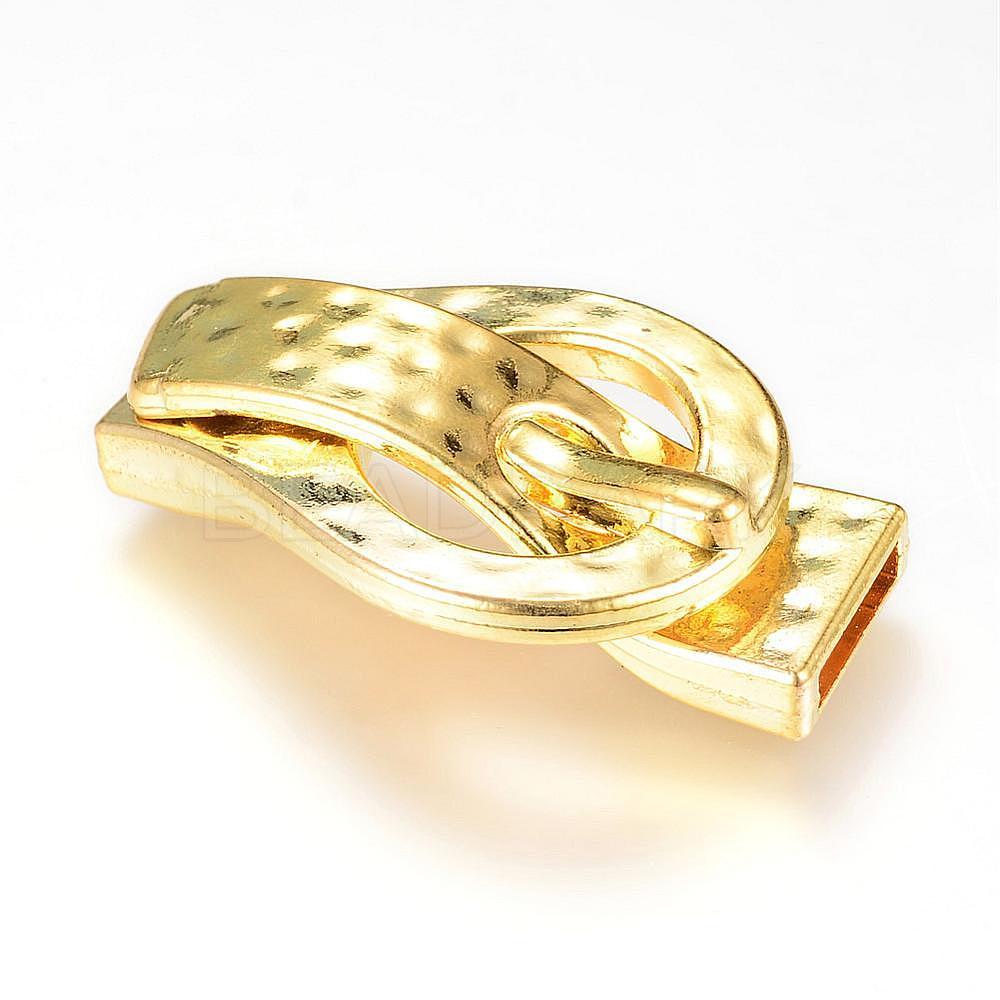 Kk Diamond Centre Kuching Kkdc Home: Brass Magnetic Clasps, Buckle Shape, Golden, 40x24x10mm