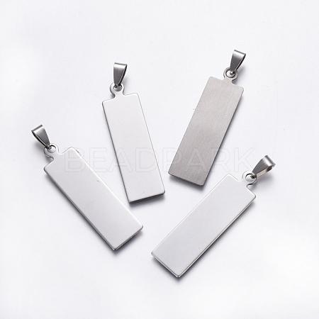 Stainless Steel PendantsSTAS-E456-02P-1