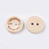 Wooden ButtonsBUTT-K007-11A-3