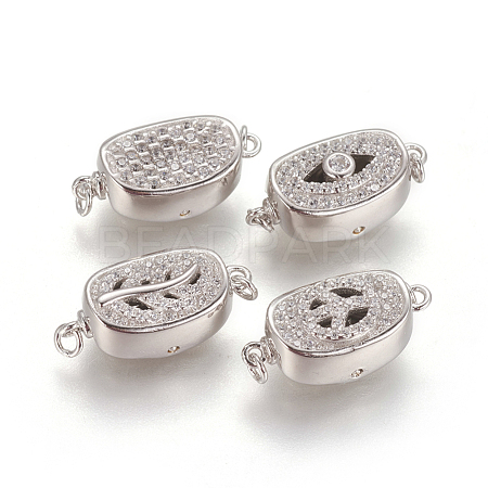 925 Sterling Silver Box Clasps STER-L059-08M-1