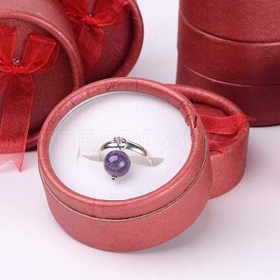 Valentines Day Presents Packages Round Ring Boxes X-BC022-1