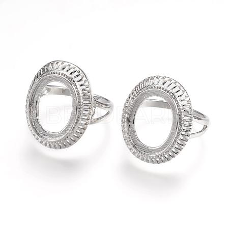 Brass Finger Ring ComponentsX-KK-K196-06P-1