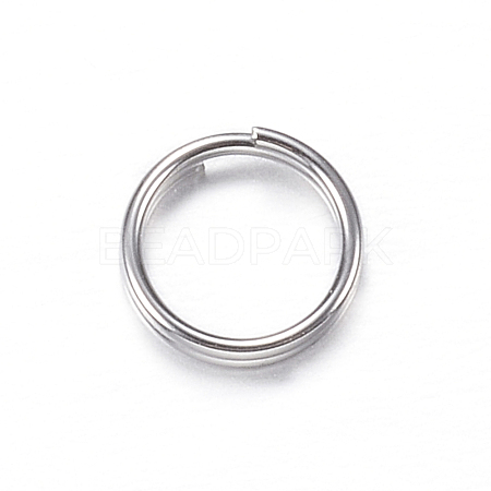 304 Stainless Steel Split RingsX-STAS-P092-03-1