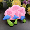 Mushroom Shape DIY Food Grade Silicone MoldsX-AJEW-P046-05-2