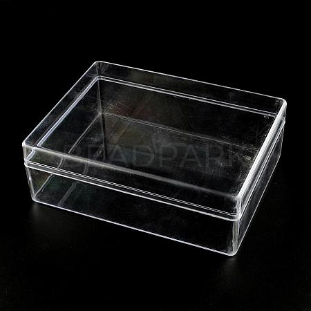 Rectangle Plastic Bead Storage ContainersCON-R006-05-1