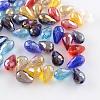 AB-Color Plated Drop Glass BeadsEGLA-R104-5x7-1