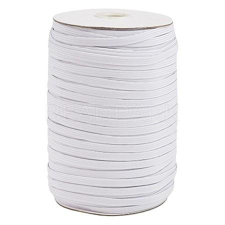 3/8inch Flat Braided Elastic Rope CordEC-R030-10mm-01-1