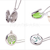 SUNNYCLUE® 304 Stainless Steel Pendant Necklaces NJEW-SC0001-03P-5