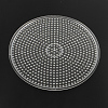 Flat Round ABC Plastic Pegboards used for 5x5mm DIY Fuse Beads X-DIY-Q009-52-2