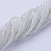 Glass Pearl Beads StrandsX-HY-3D-B01-3