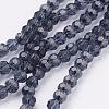 Glass Beads StrandsEGLA-J042-4mm-03-1