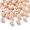Round Unfinished Wood Beads X-WOOD-Q008-10mm-LF-1