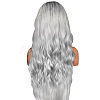 25.6inches(65cm) Long Wavy Ombre Synthetic WigsOHAR-L010-016-4