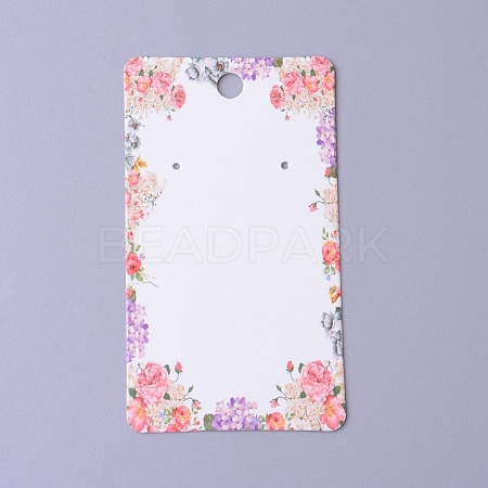Cardboard Earring Display Cards CDIS-F003-11A-1