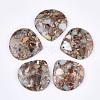 Synthetic Aqua Terra Jasper PendantsG-S329-044-1