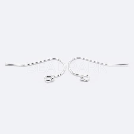 925 Sterling Silver Earring HooksSTER-K167-051C-S-1