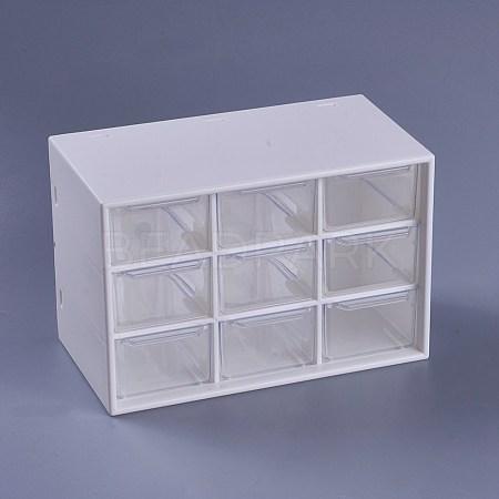 Plastic Cosmetic Storage Display BoxX-AJEW-WH0096-62-1