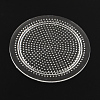 Flat Round Pegboards for 3x2.5mm Mini Fuse BeadsX-DIY-Q009-06-1
