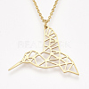 201 Stainless Steel Pendant Necklaces NJEW-T009-JN051-2-45-1