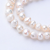 Natural Cultured Freshwater Pearl Beads Strands X-PEAR-S010-18-1