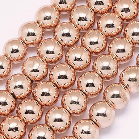 Electroplate Glass Beads StrandsX-EGLA-G017-10mm-A01-1