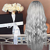 25.6inches(65cm) Long Wavy Ombre Synthetic WigsOHAR-L010-016-3