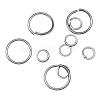 Iron Jump Rings and Split RingsM-JR001Y-NF-1