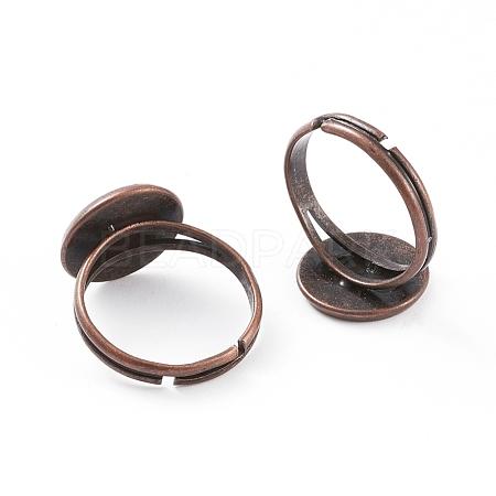 Adjustable Brass Ring ComponentsX-KK-G173-R-NF-1