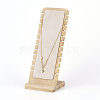Bamboo Necklace Display StandNDIS-E022-04-3