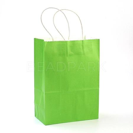 Pure Color Kraft Paper BagsAJEW-G020-A-05-1
