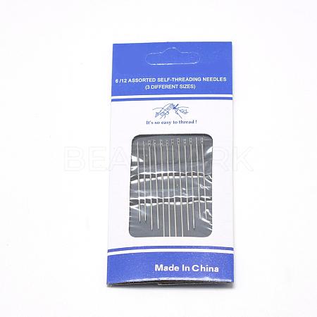 Iron Self-Threading Hand Sewing NeedlesIFIN-R232-01P-1