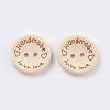 Wooden ButtonsBUTT-K007-08C-2