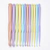 Plastic Crochet Hooks NeedlesTOOL-Q010-01-1