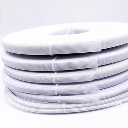 Polyester & Plastic Boning Sewing Wedding Dress FabricOCOR-WH0052-26-1