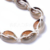 Adjustable Cowrie Shell AnkletsAJEW-AN00256-3