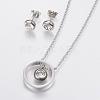 304 Stainless Steel Jewelry SetsSJEW-I192-02P-1